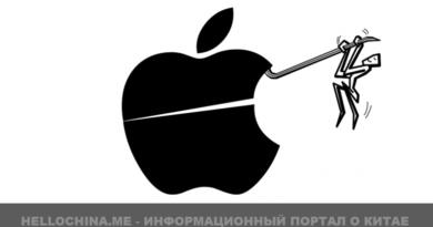 Китайские пользователи apple