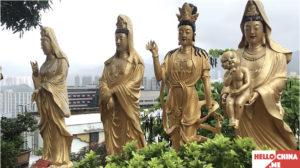 Монастырь Десяти тысяч Будд (фото 25)