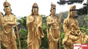 Монастырь Десяти тысяч Будд (фото 26)