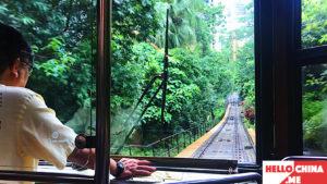 Трамвайчик Пик Виктория Гонконг