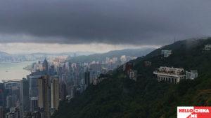 Пик Виктория Гонконг