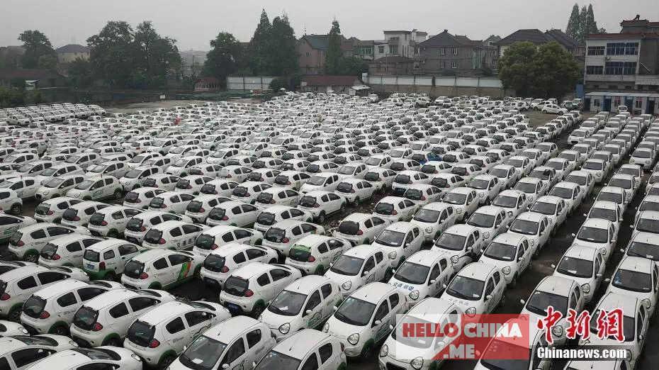 Автомобильное кладбище в Китае фото 2
