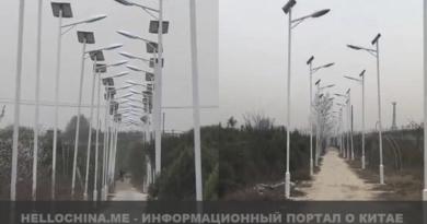 Дорога с 1000 уличных фонарей.