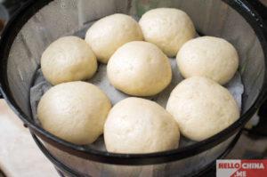 Китайские десерты, хлеб на пару фото 1