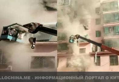 Юноша помог эвакуироваться людям из горящего здания